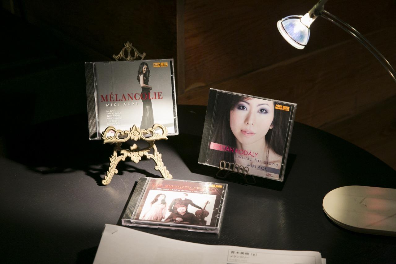 発売中のCD 撮影=鈴木久美子