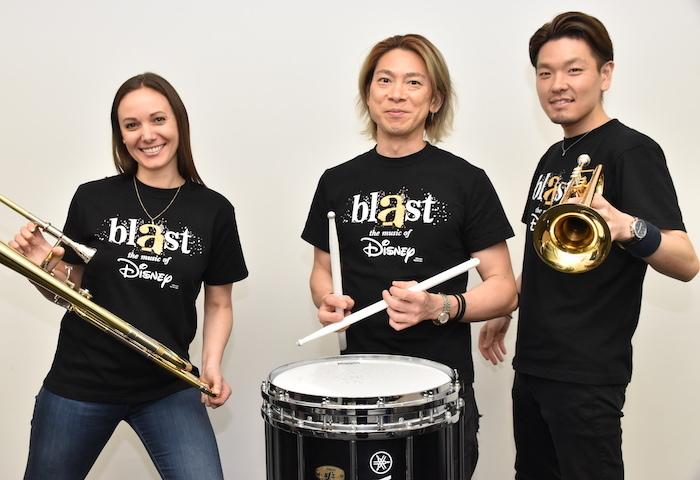 リサ・ライザネック・チャペル、石川直、米所裕夢(左から)