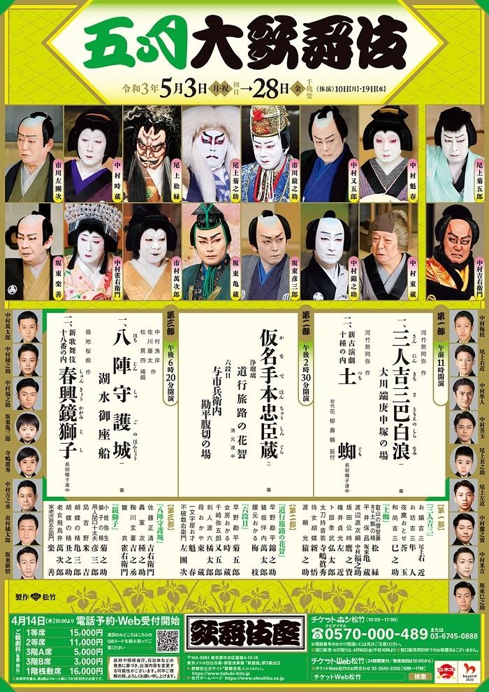 歌舞伎座『五月大歌舞伎』