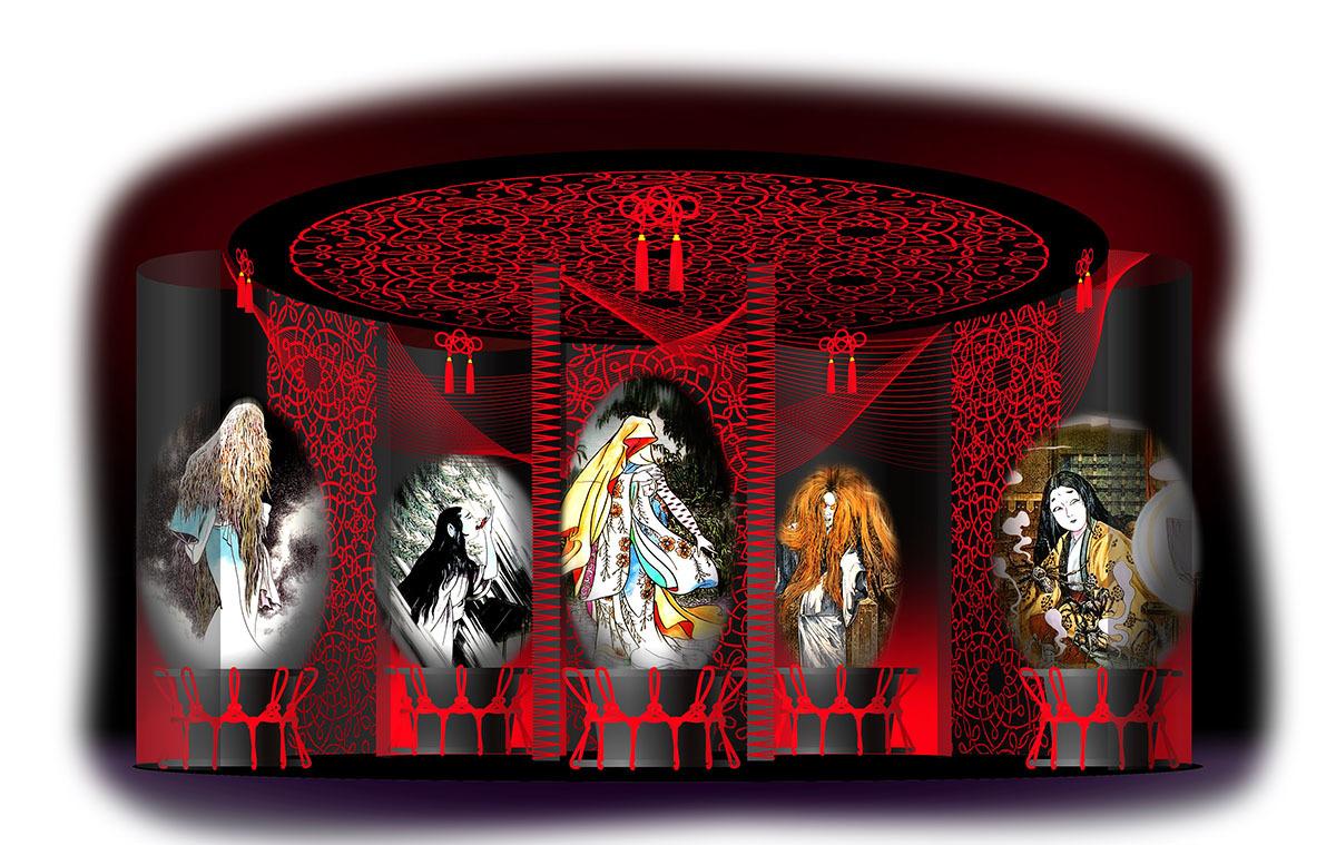 女妖怪の棲む城イメージ (C)水木プロダクション