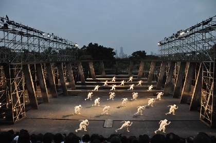 維新派『アマハラ』、台湾で行われた最終公演をレポート《前編》