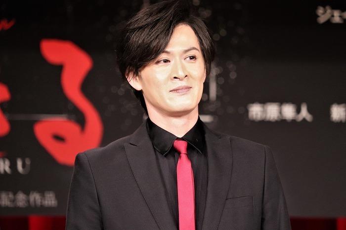 新納慎也 ミュージカル『生きる』製作発表より