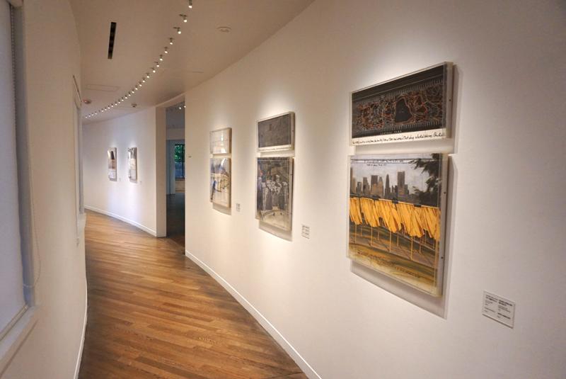 1階廊下の風景