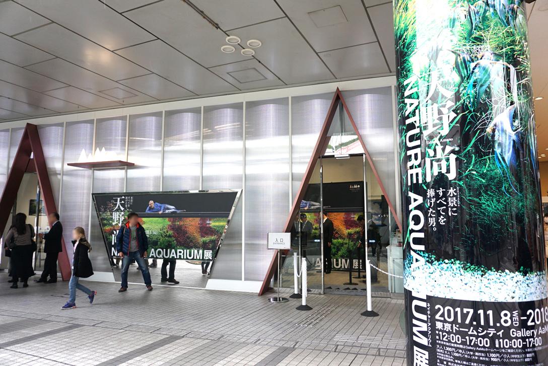 展覧会入口の様子