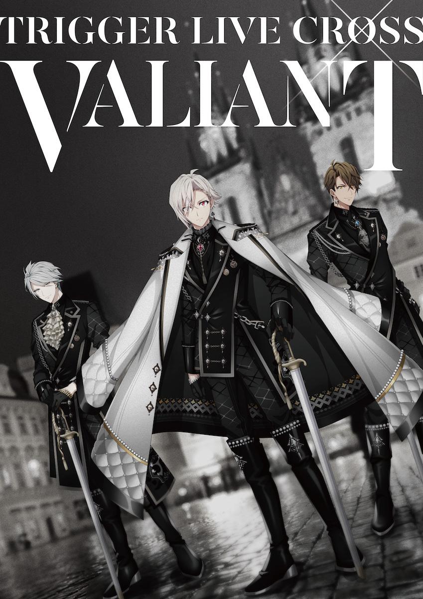 """『TRIGGER LIVE CROSS """"VALIANT""""』キービジュアル (c)アイドリッシュセブン (c)BNOI/アイナナ製作委員会"""