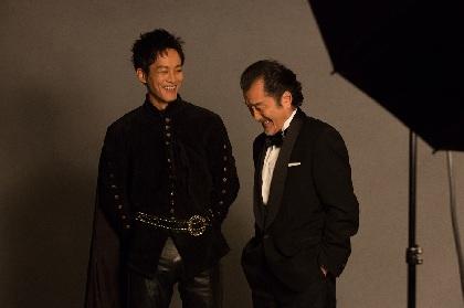 吉田鋼太郎演出の『ヘンリー五世』、松坂桃李らキャストのビジュアル撮影現場をレポート!