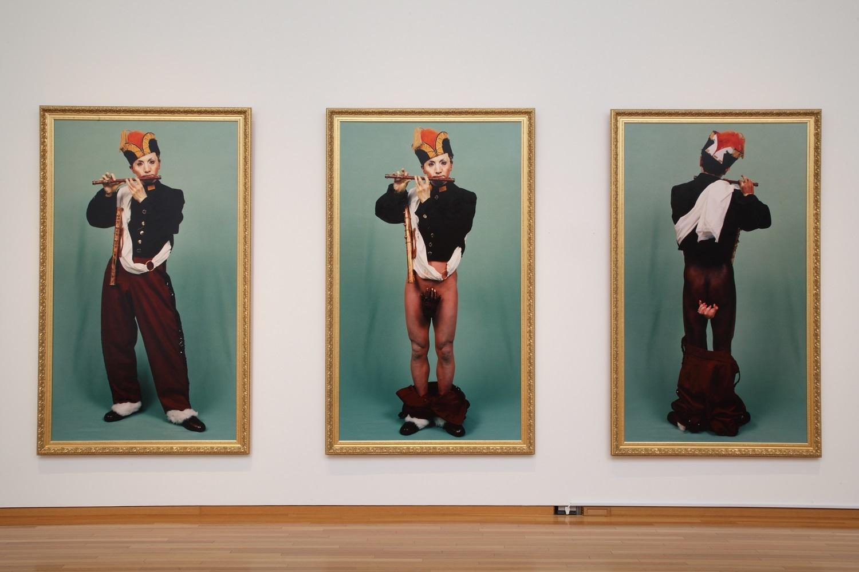 森村泰昌《肖像(少年1,2,3)》1988