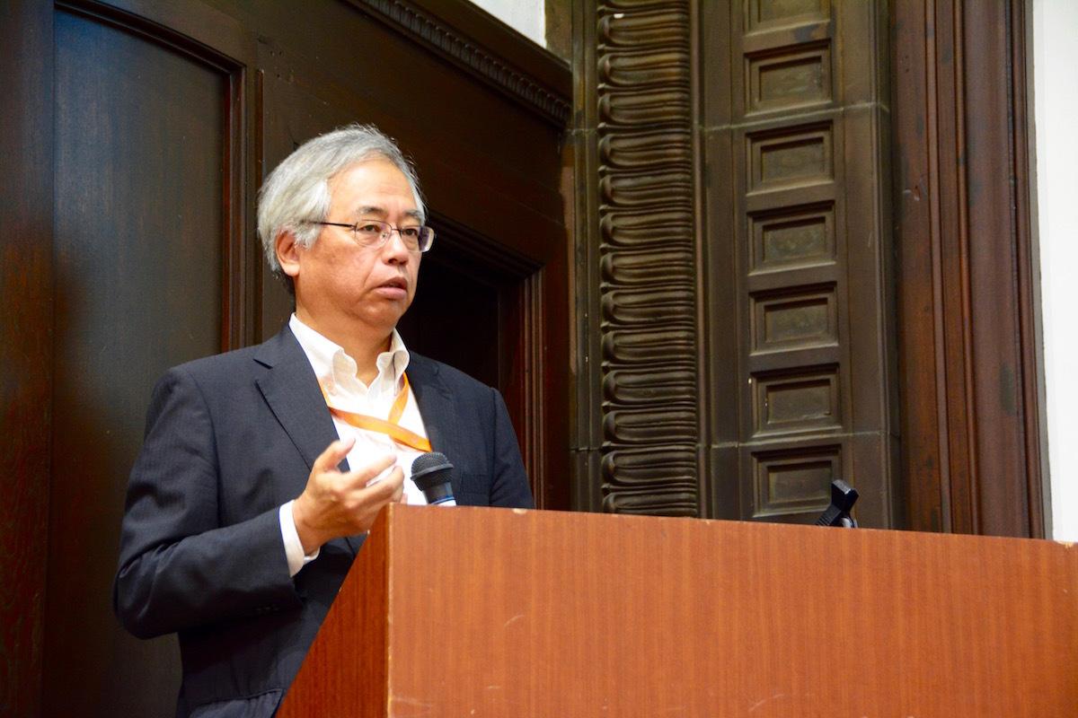 記者発表会に登壇した篠田謙一博士(国立科学博物館副館長 兼 人類研究部長)
