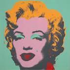 アンディ・ウォーホル 《マリリン》10点組 1967年 シルクスクリーン、紙 滋賀県立近代美術館蔵