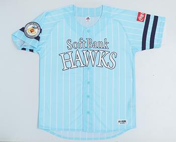 選手が着用するものと同じデザインの「鷹の祭典2019専用ユニフォーム(レプリカ)」
