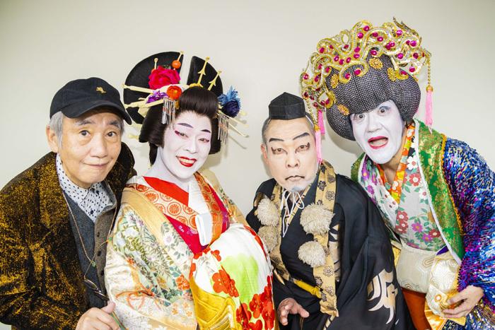 左から 喰始、柴田理恵、佐藤正宏、大久保ノブオ