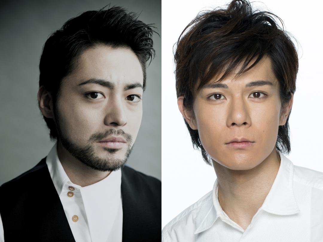 左から、山田孝之、柿澤勇人