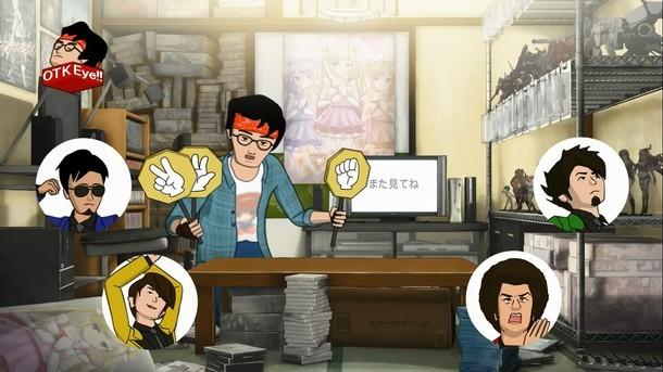 11月14日(土)深夜に放送されるアニメ「Peeping Life TV シーズン1 ??」予告のワンシーン。(c)Peeping Life TV 製作委員会 2015