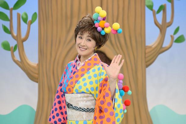 「ワラッチャオ!」出演時の小林幸子。(写真提供:NHK)