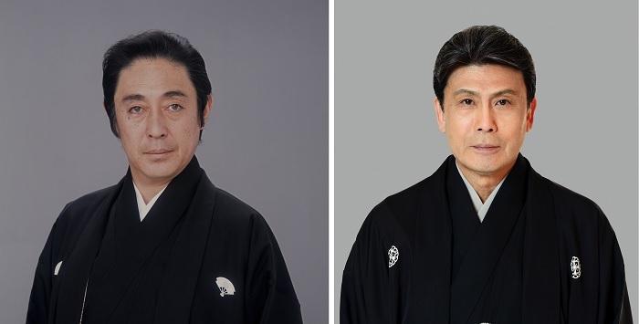 (左から)尾上菊五郎、松本白鸚