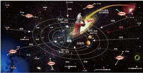宇宙マップ イメージ