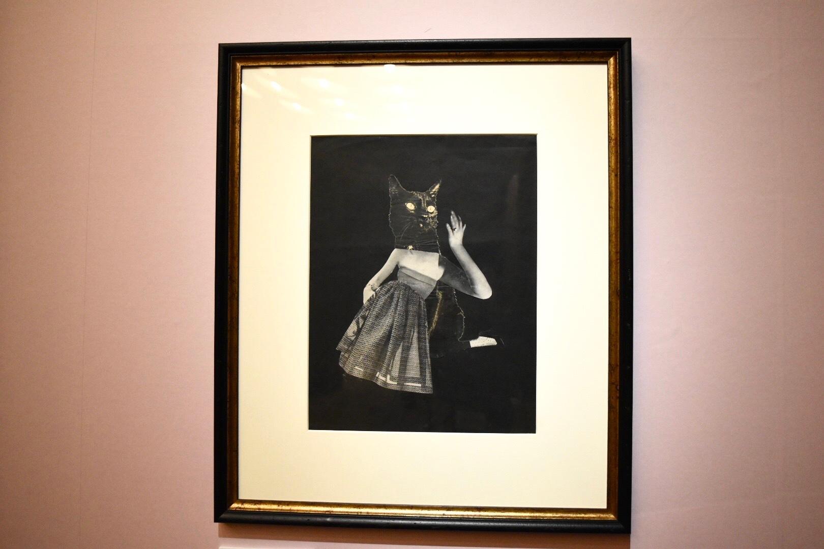岡上淑子 《マスク》 1952年