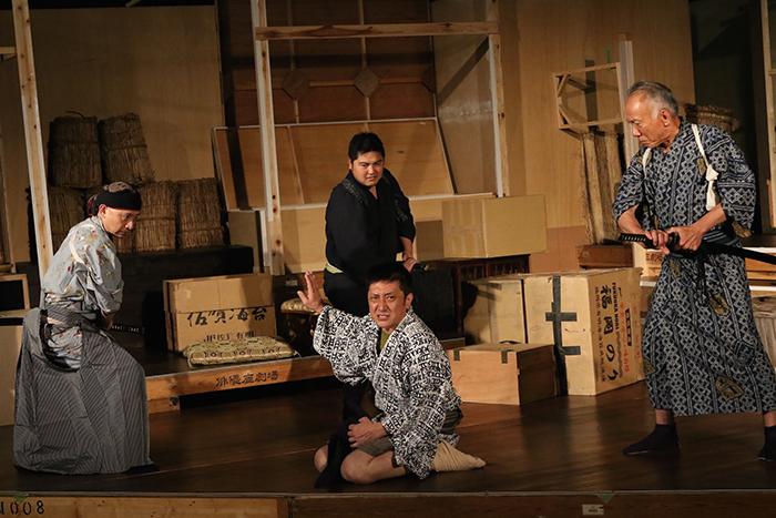『イヌの仇討』稽古場より 撮影:田中亜紀