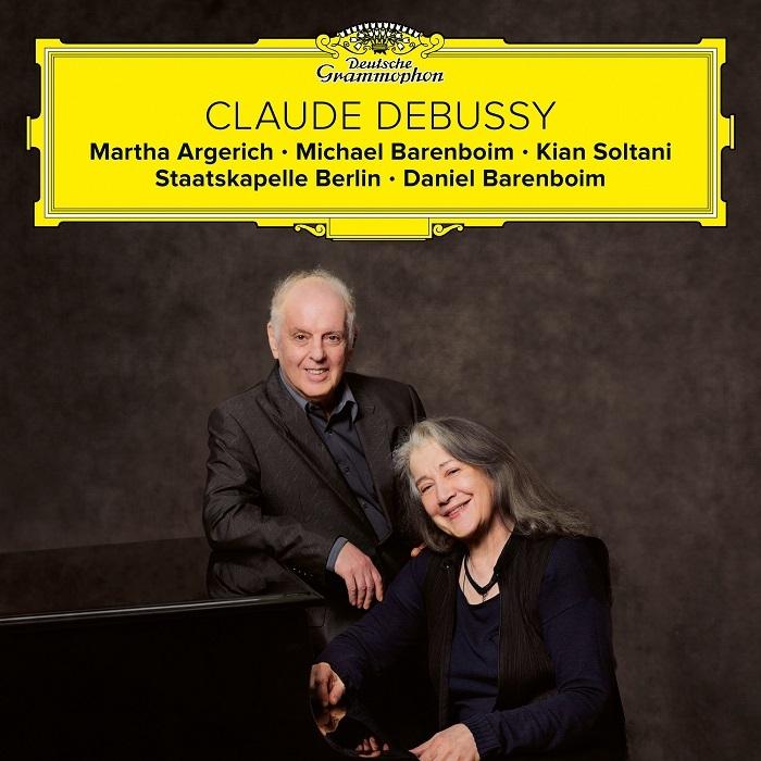 マルタ・アルゲリッチ、ダニエル・バレンボイム、他『ドビュッシー:ピアノと管弦楽のための幻想曲、交響詩《海》、他』ジャケット写真