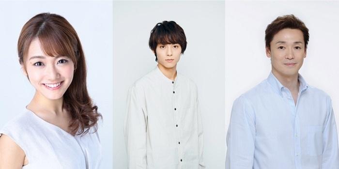 (左から)門田奈菜、永田崇人、今拓哉