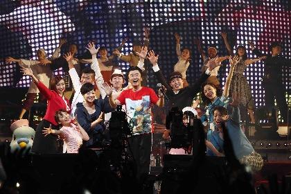 桑田佳祐「今年も頑張っぺよーーー!」 『紅白歌合戦』にも中継された年越し公演オフィシャルレポート