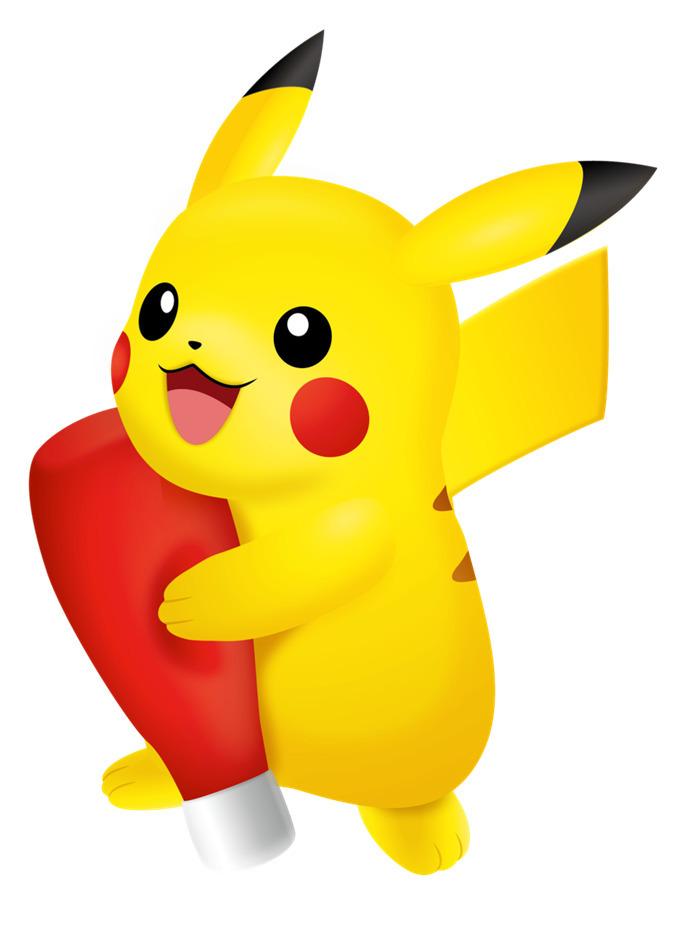 等身大ケチャップピカチュウぬいぐるみ (c)Nintendo・Creatures・GAME FREAK・TV Tokyo・ShoPro・JR Kikaku (c)Pokémon (c)2018 ピカチュウプロジェクト