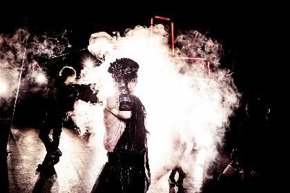 元SCREWのボーカルBYOが新バンドKHRYST+始動を発表、11月に初ライブ開催