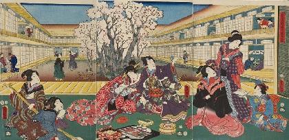 江戸の料理を浮世絵から楽しむ『おいしい浮世絵展』 2020年4月に開催