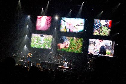 """スキマスイッチ、思い思いの""""未来花""""が咲き誇るなか全国ツアー開幕 初の横浜アリーナ2days公演も発表"""