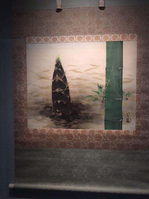 川端龍子≪松竹梅のうち「竹(物語)」≫1957(昭和32)年 絹本・彩色 山種美術館