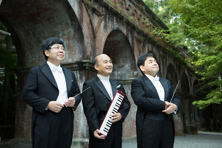 3人の指揮者陣(左より高関健、広上淳一、下野竜也) (c)伊藤菜々子