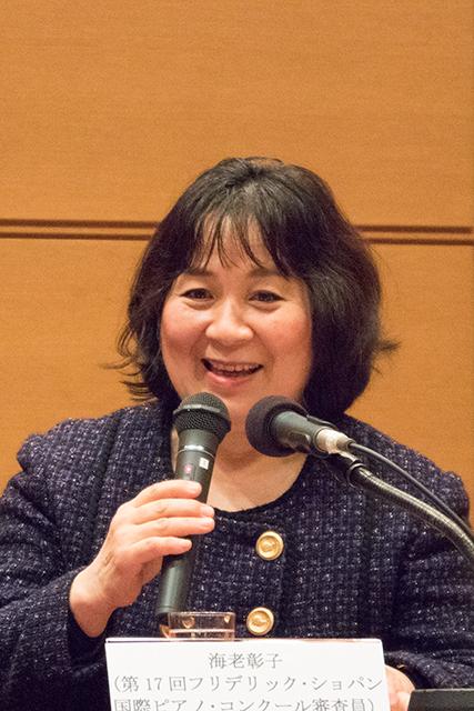 海老彰子 (Photo:M.Otsuka/TokyoMDE)