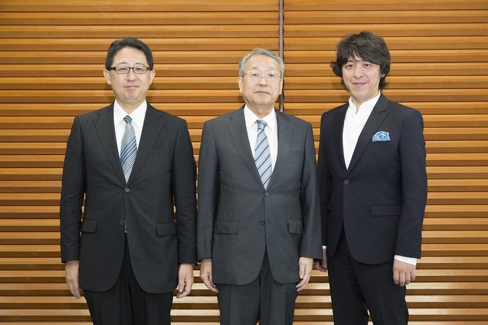 (左から)山口毅、韮澤弘志、宮本益光 撮影:最上梨沙