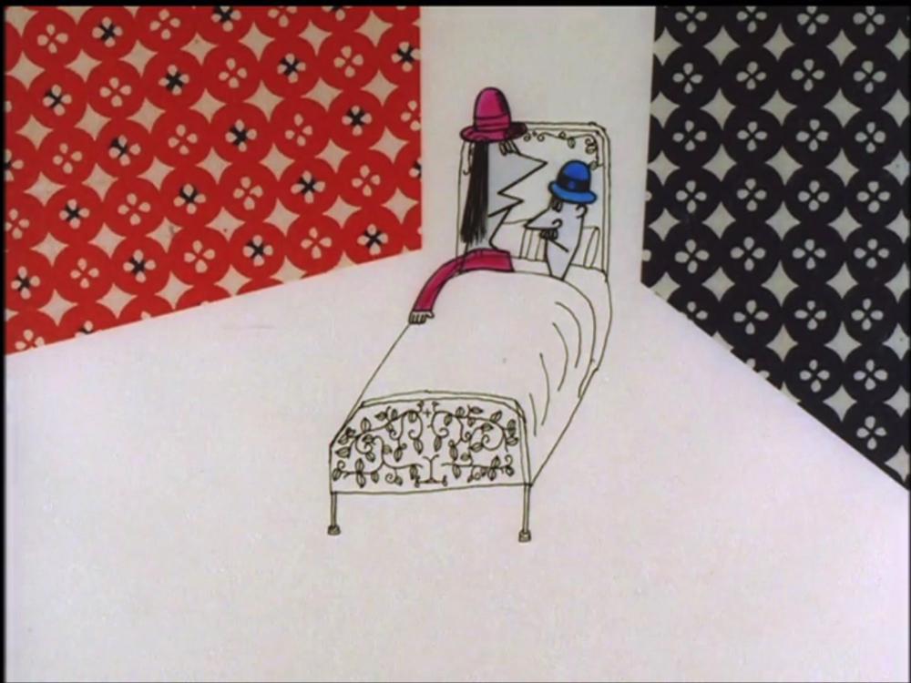 クリヨウジ(久里洋二)「LOVE」1963年