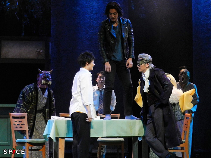 舞台『妖怪アパートの幽雅な日常』公開稽古の様子