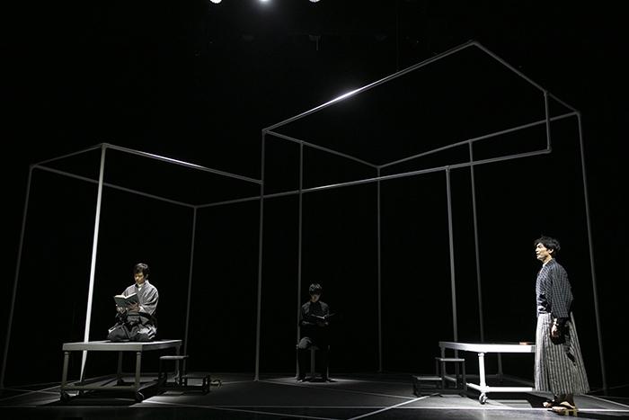 『僕のド・るーク』右:上口耕平、中央:小林且弥、左:辻本祐樹  撮影:岩村美佳