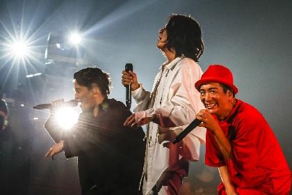 KICK THE CAN CREW 16年ぶりの日本武道館ワンマンライブ『現地集合』が映像作品化