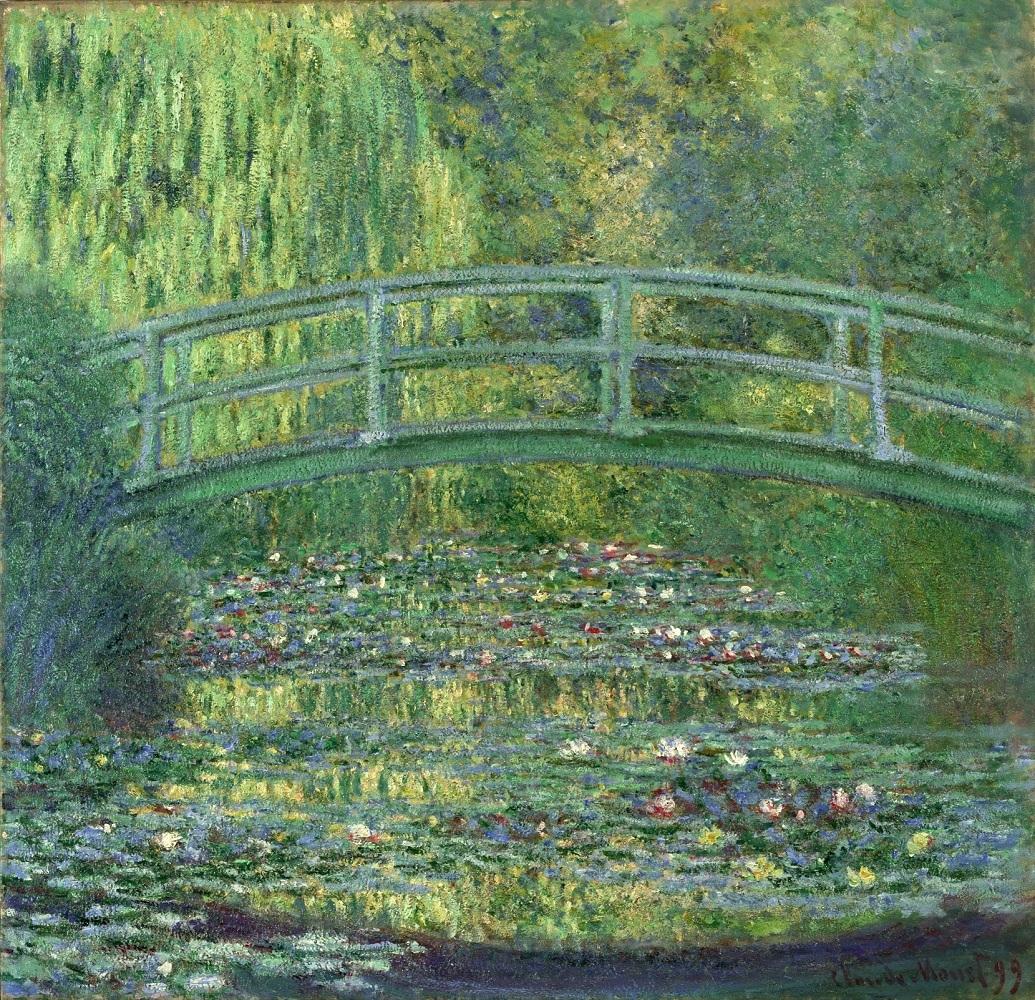 クロード・モネ《睡蓮の池》1899年 油彩/カンヴァス ポーラ美術館