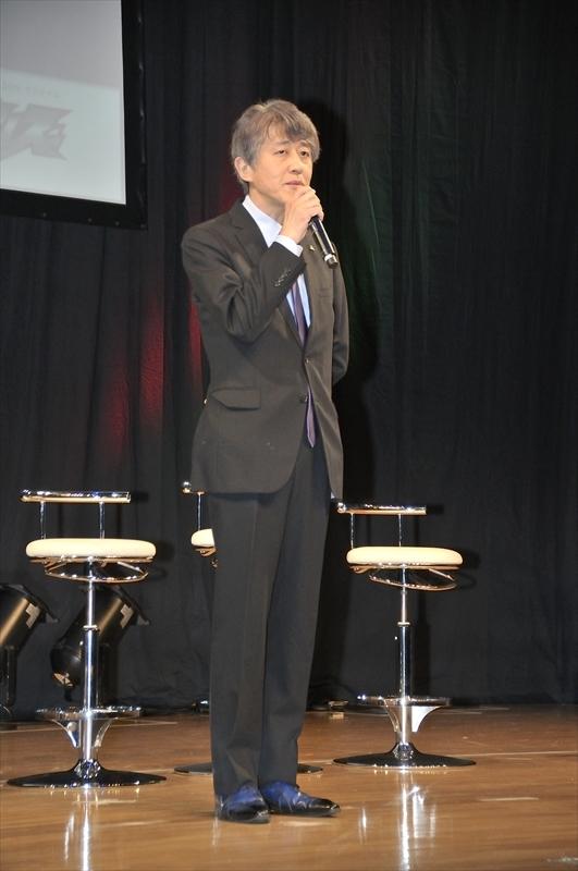 白倉伸一郎プロデューサー 撮影:小林真之輔