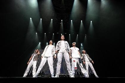 バックストリート・ボーイズ、約6年ぶりの来日公演で全33曲を披露し1万人を魅了