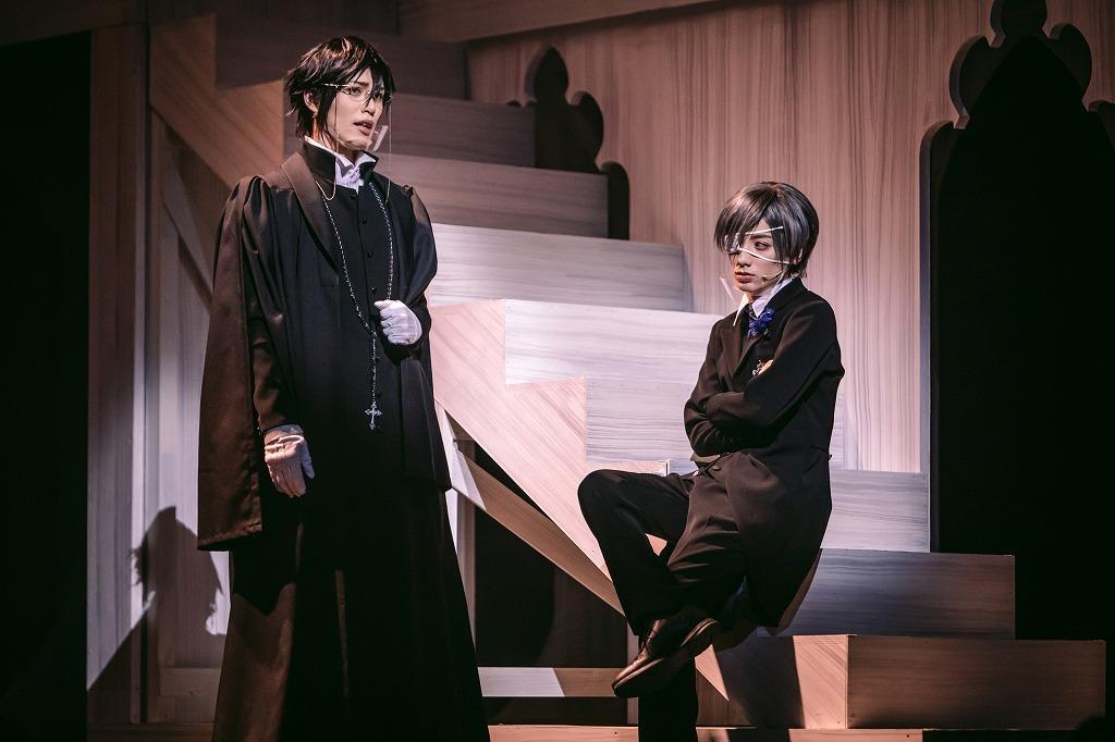 『ミュージカル「黒執事」~寄宿学校の秘密~』舞台写真