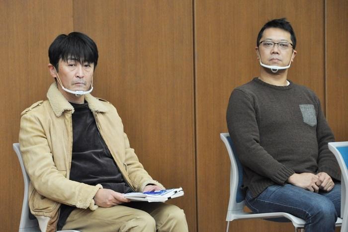 ドラマ『半沢直樹』の怪演で大きな評判を呼んだ、佃典彦(左)と土田英生(右)も、前回からそろって選考委員を務めている。