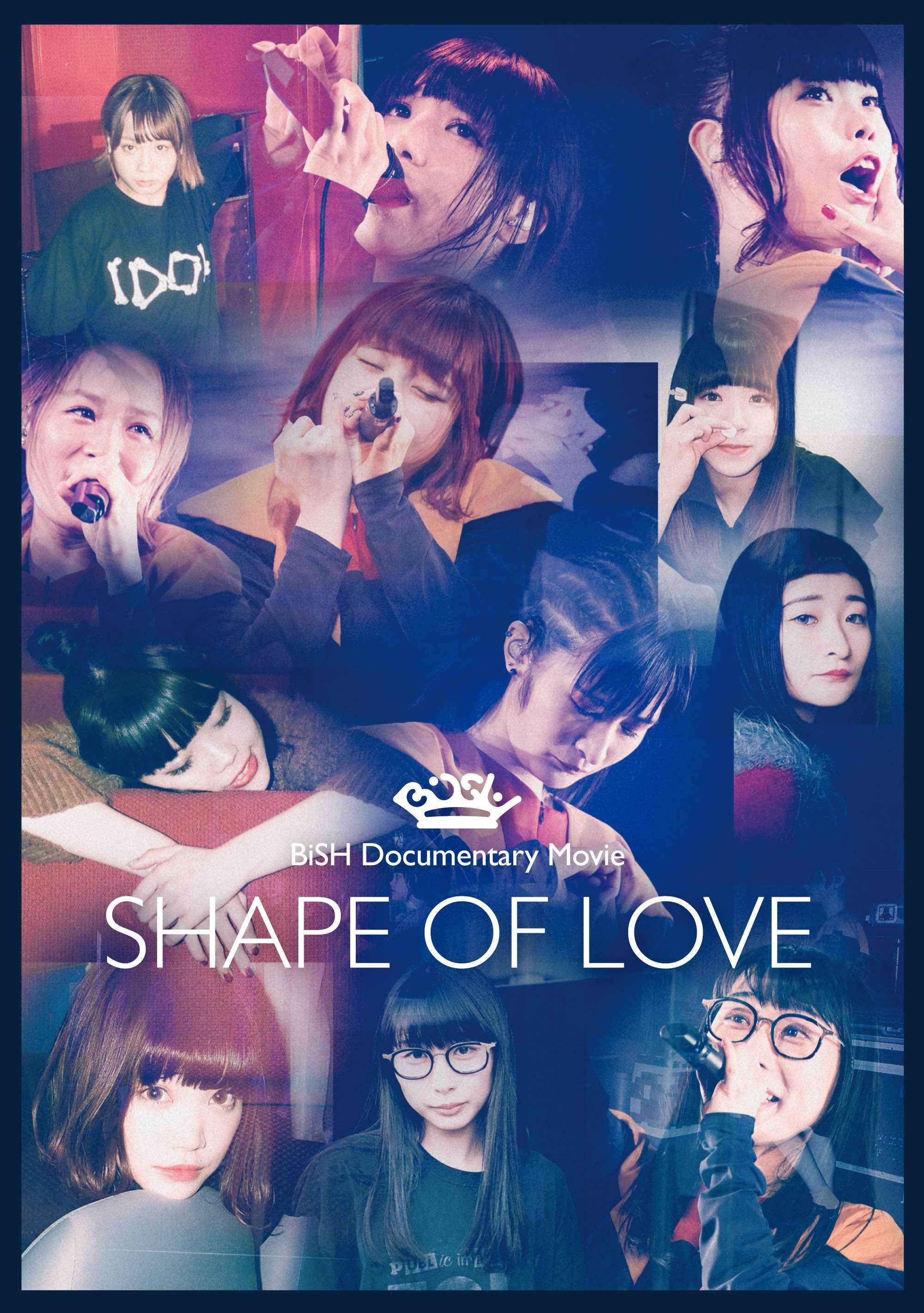 """『BiSH Documentary Movie """"SHAPE OF LOVE""""』DVD"""
