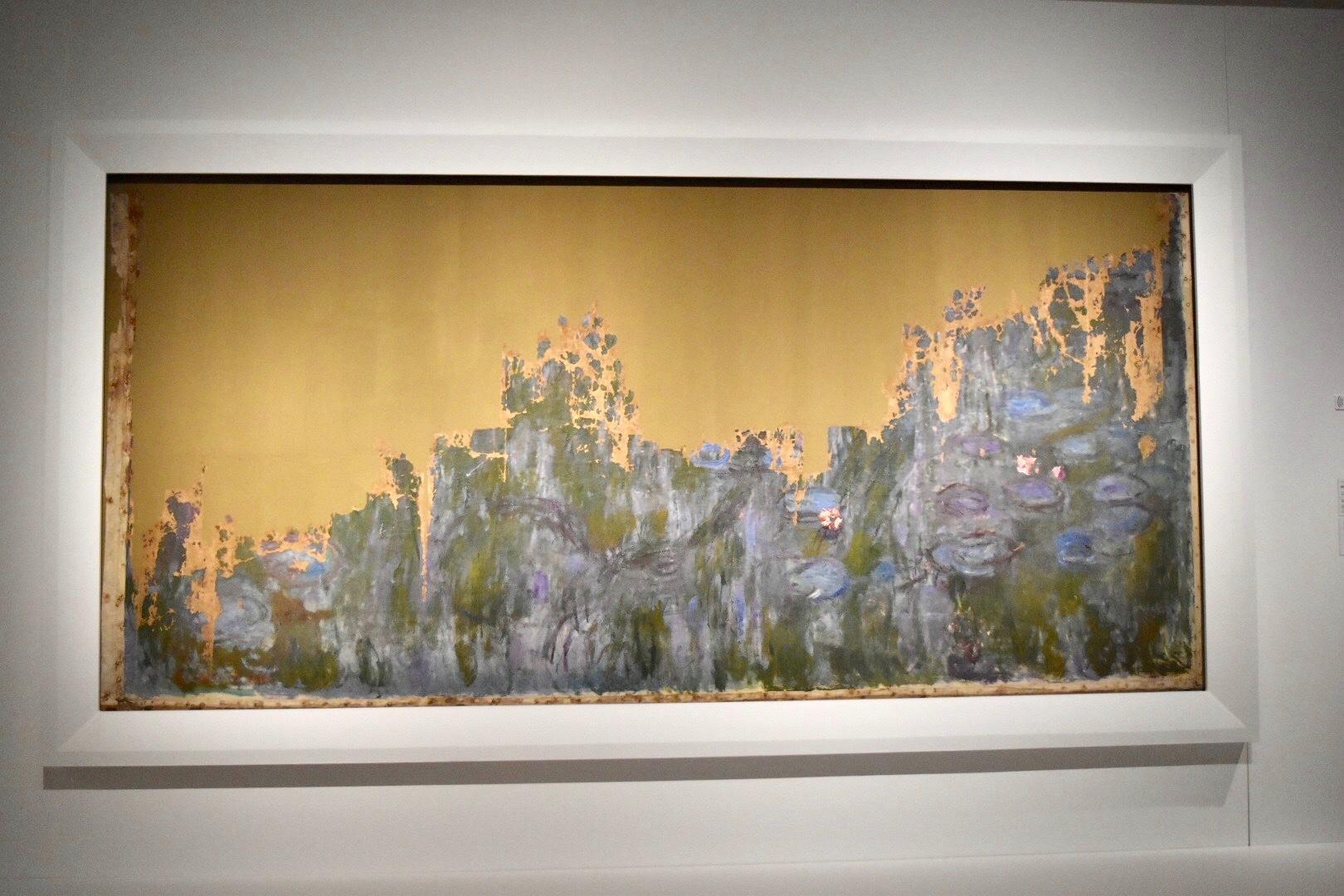 クロード・モネ 《睡蓮、柳の反映》 1916年 国立西洋美術館蔵(松方幸次郎氏御遺族より寄贈)