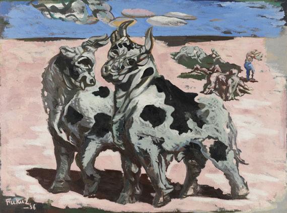 《牛》 1936年 東京国立近代美術館蔵