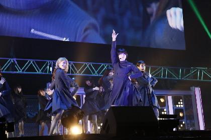欅坂46、FLOW、家入レオ、GRANRODEOらがジャンプを体現!『JUMP MUSIC FESTA』 平手友梨奈もステージに登場