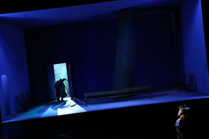 新国立劇場『ワルキューレ』ゲネプロ(撮影:安藤光夫)