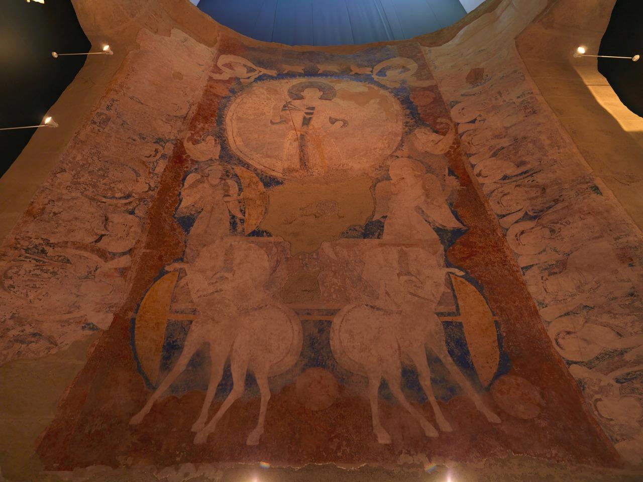 クローン文化財:バーミヤン東大仏天井壁画復元
