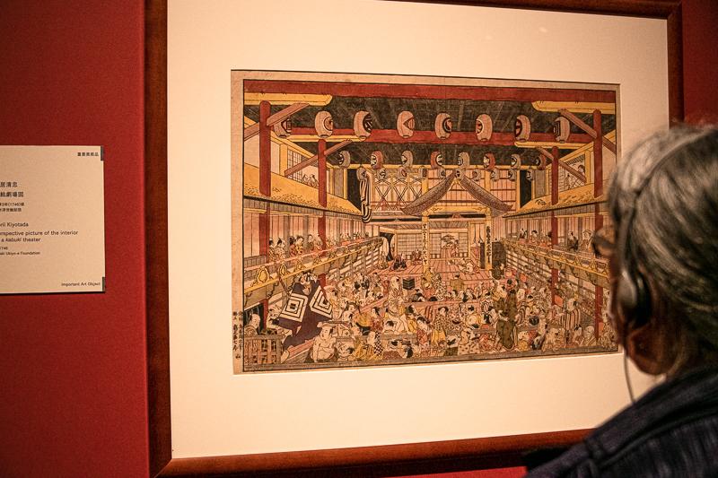 鳥居清忠《浮絵劇場図》重要美術品 平木浮世絵財団(前期展示)