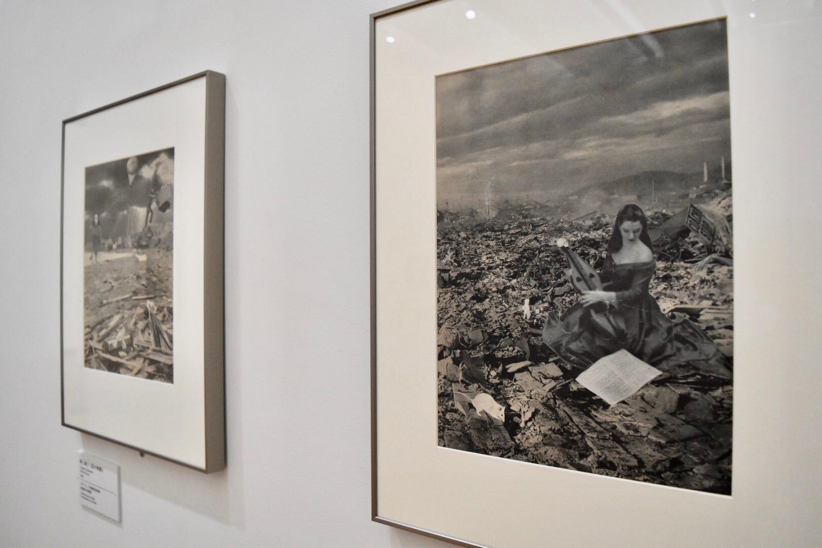 岡上淑子 《廃墟の旋律》 1951年頃